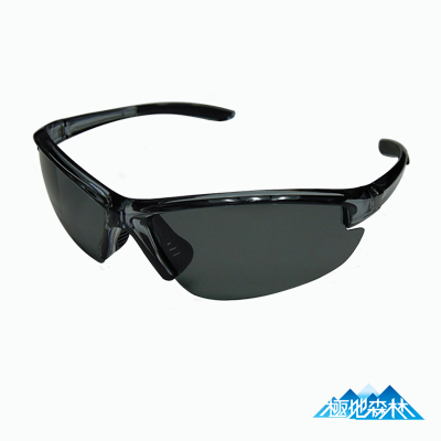 【極地森林】深灰色TAC寶麗萊偏光鏡片運動太陽眼鏡(7703)