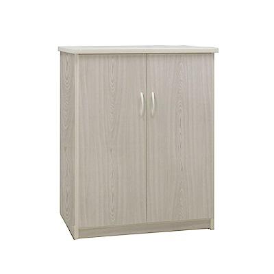 品家居 瑪丹2.9尺環保塑鋼單吊衣櫃(四色可選)-86.5x60x100cm-免組