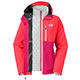 The North Face 女HyVentTHERMOBALL 兩件式外套 櫻桃粉灰 product thumbnail 1