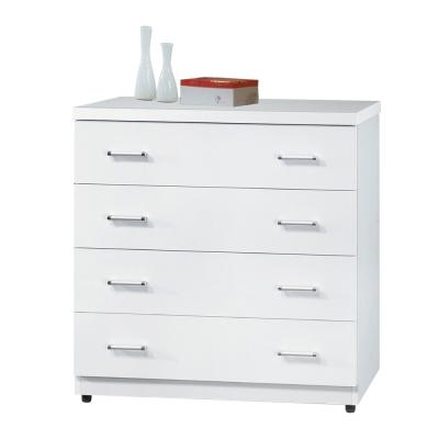 斗櫃-日式簡約2-7尺-四抽櫃-白色-Bernic