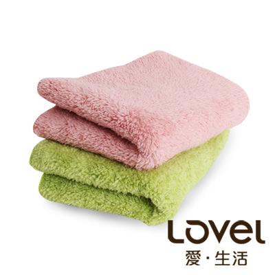 LOVEL 7倍強效吸水抗菌超細纖維毛巾3入組(共9色)