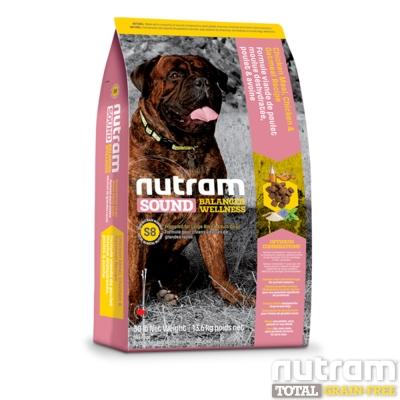Nutram紐頓 均衡健康系列 S8 大型成犬 雞肉蘋果 13.6kg x 1包