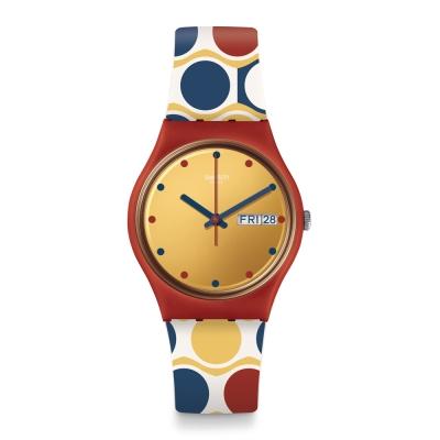 Swatch 狂歡夜系列 PASTILLO 藝術圈彩手錶