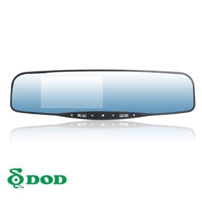 DOD-LX550W-後視鏡型行車紀錄器-快