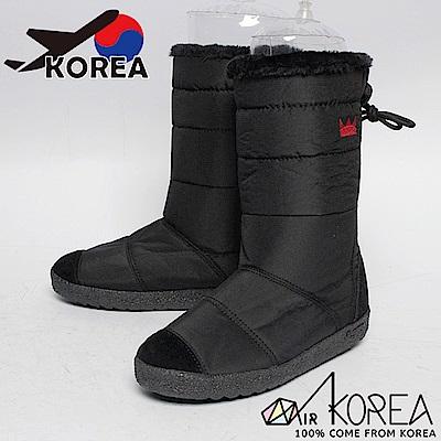AIRKOREA韓國空運-正韓電繡皇冠防風鋪棉保暖