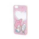 Sanrio 美樂蒂鏡面 iPhone5/5S保護殼(化妝)