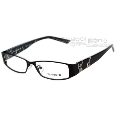 PLAYBOY-時尚光學眼鏡 (黑色)PB82321