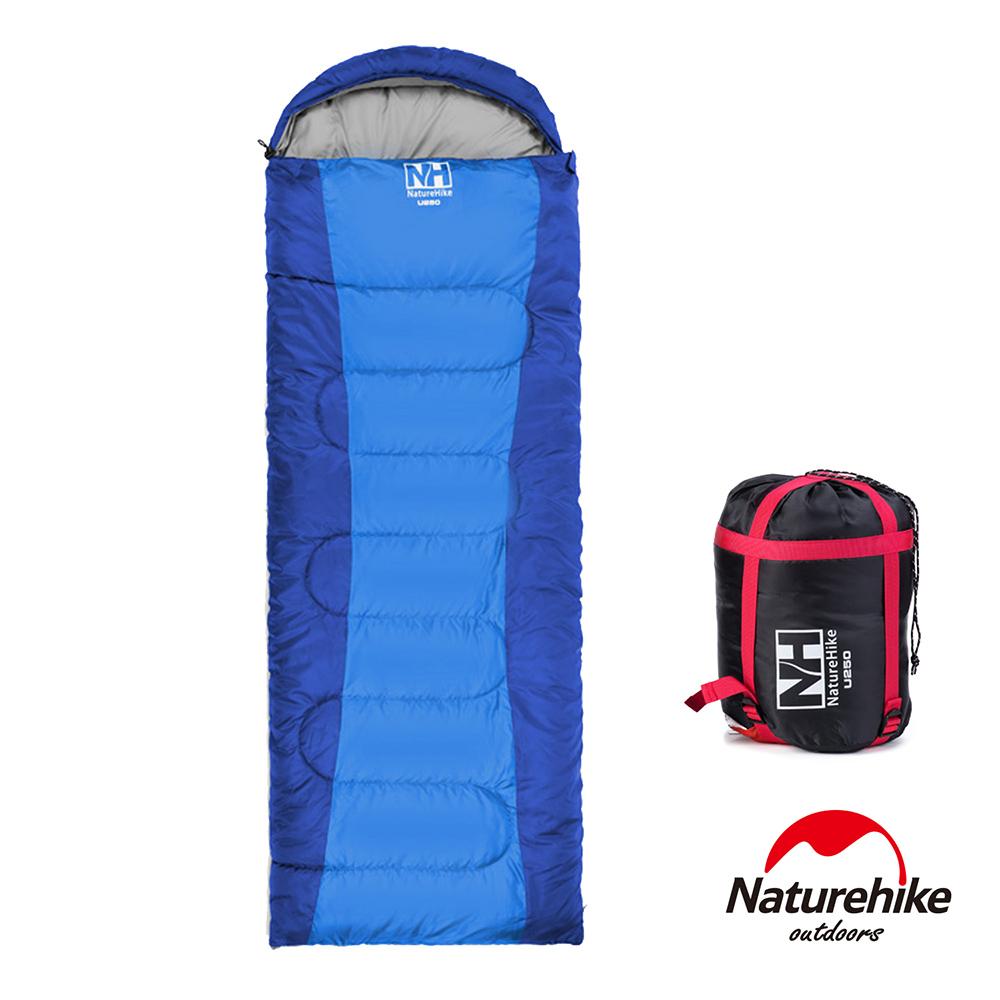 Naturehike 可拼接戶外旅行保暖睡袋 寶藍