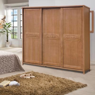 時尚屋 香杉美檜7x7尺衣櫃 寬212cm-免組