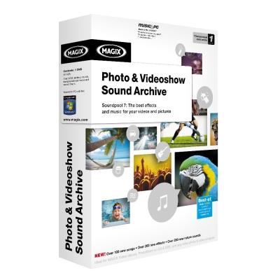 Photo & Videoshow Sound Archive 音效音樂素材特效輯
