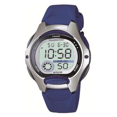 CASIO 超時空玩家電子錶(LW-200-2A)-藍/34.9mm