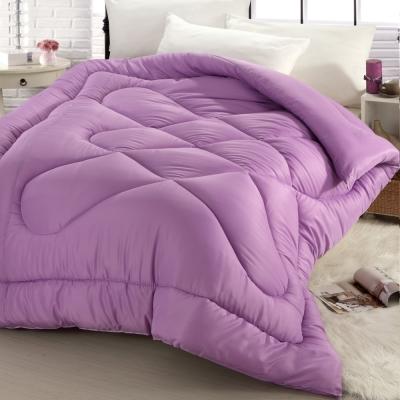(活動)精靈工廠 吸濕排汗超級纖維科技羽絲絨被2.0kg-迷情紫