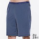 zuzai 自在絲感奇蹟居家短褲-男-極深藍色
