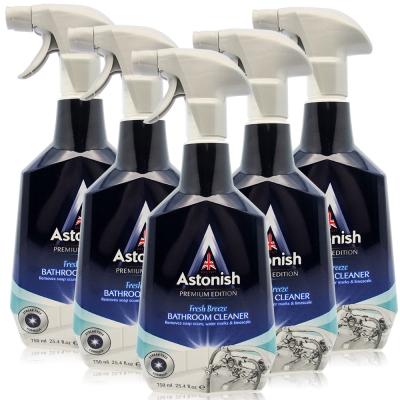 Astonish英國潔 抑菌除污浴廁清潔劑5瓶(750mlx5)