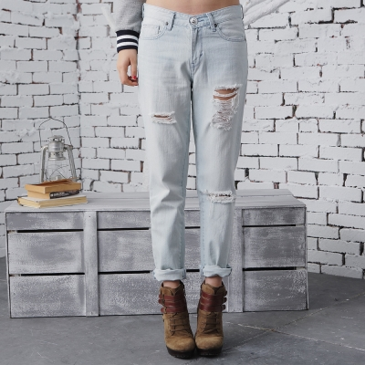 DEF-IT-直筒牛仔褲-節有時