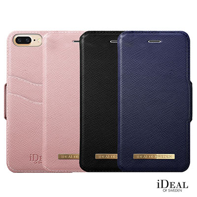 iDeal iPhone 8 plus/7 Plus 瑞典精品多功能Saffiano手機皮套
