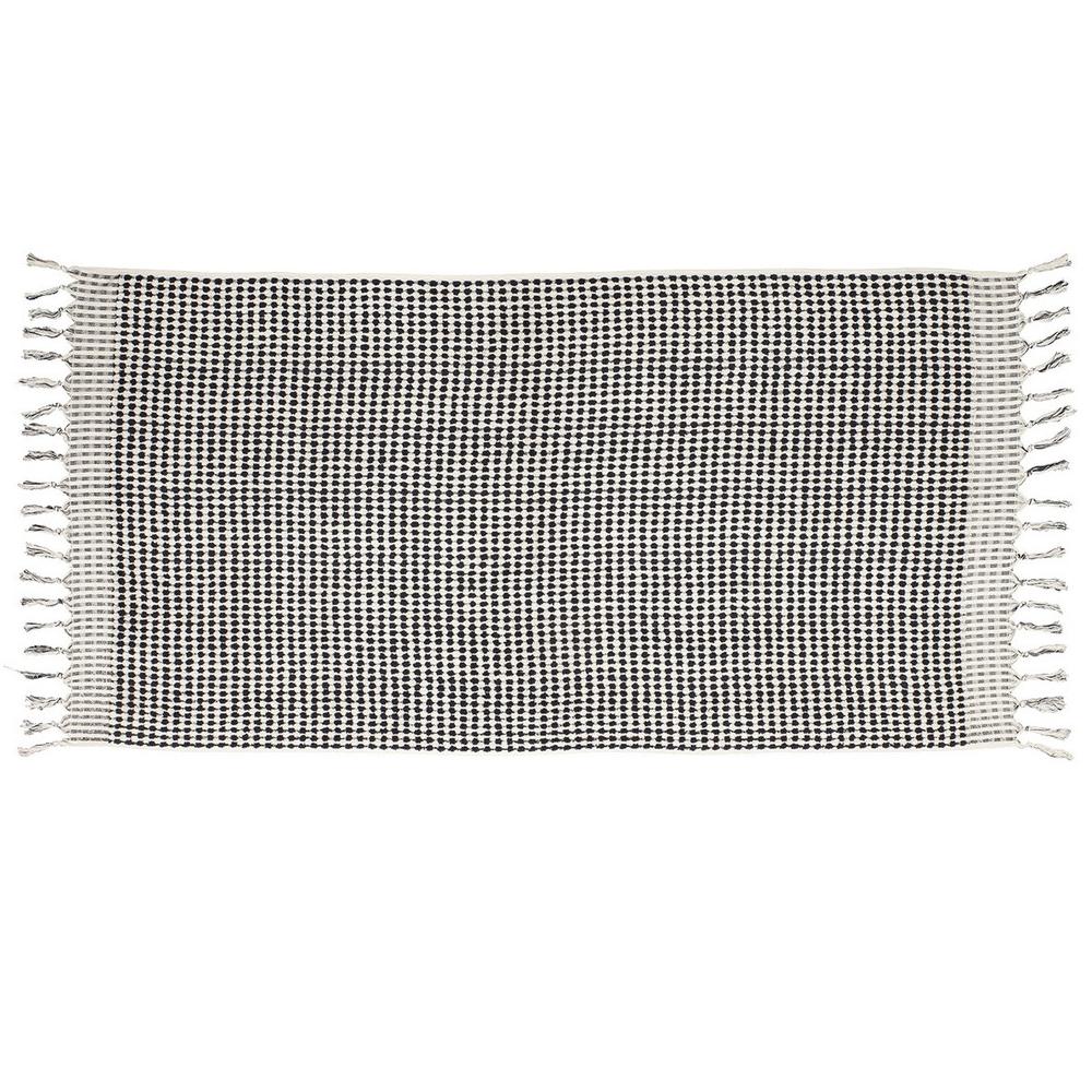 TAMA 天然純淨頂級土耳其手工浴巾(黑白西洋棋)