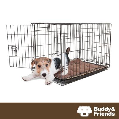 ~Buddy  Friends~寵物柔軟睡墊 淺咖啡  56x86cm