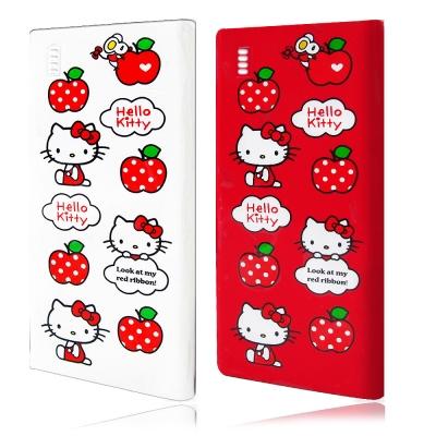 三麗鷗授權正版 Hello Kitty貓 輕薄名片型5000mAh鋰聚合物行動電源