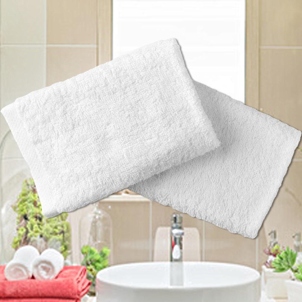 法式寢飾花季 純品良織-五星飯店專用款純白柔舒毛巾(150g/條)x6件組