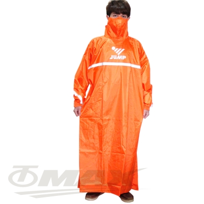 JUMP反穿式風雨衣5XL大尺寸-橘色
