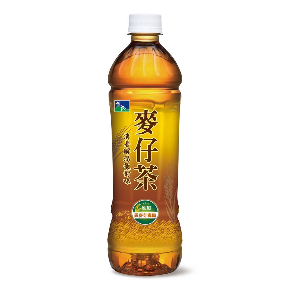 悅氏 麥仔茶(550mlx24入)
