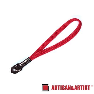 ARTISAN & ARTIST 絲質編織相機腕帶 ACAM-311N(紅)
