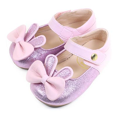 Swan天鵝童鞋 可愛兔寶寶學步鞋1555 粉