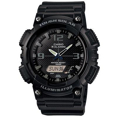 CASIO 新一代遊俠雙顯運動錶(AQ-S810W-1A2)-黑面/46.6mm