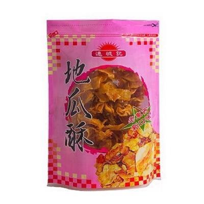 台東連城記 大包裝地瓜酥x2包+芋頭酥x1包(370g/包)