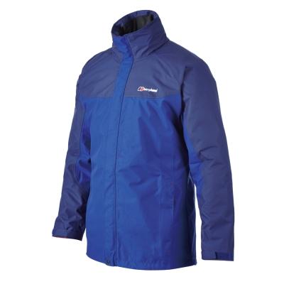 【Berghaus貝豪斯】男款防水透氣外套H 22 MS 7 -藍