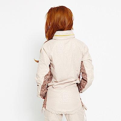【TOP GIRL】抗UV豹紋薄風衣長版外套-卡其