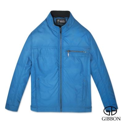 GIBBON 街頭騎士立領外套‧蔚藍M~3L