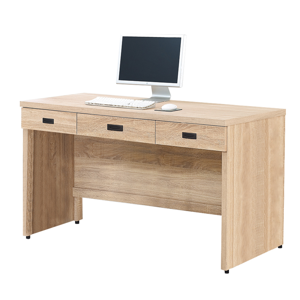 Boden-達爾思5尺三抽書桌/工作桌-151x58x82cm