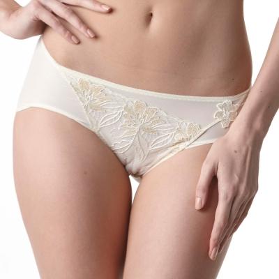 LADY 安布羅莎系列 機能調整型 中腰三角褲(香澄黃)
