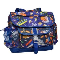 美國Bixbee - 彩印系列太空漫遊大童輕量舒壓背書包