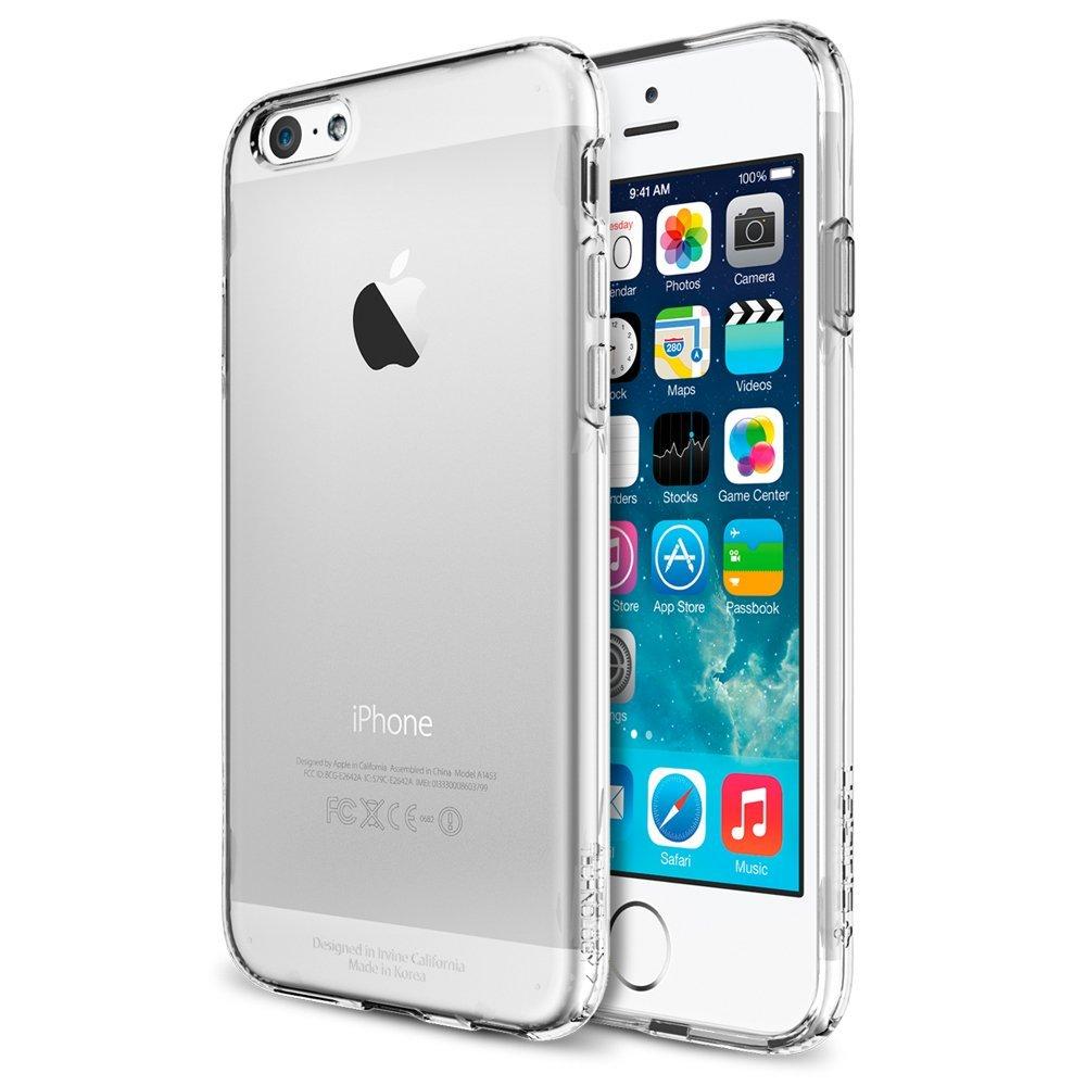 SPIGEN iPhone6 (4.7)超薄吸震軟式手機殼