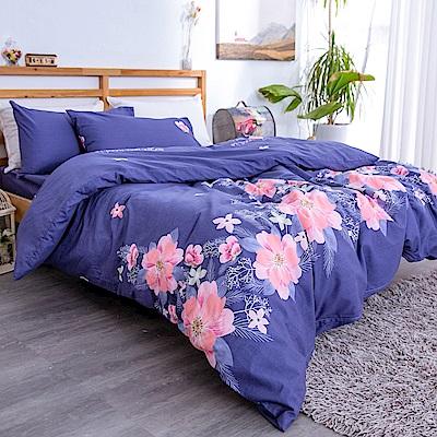 kokomos 扣扣馬 台灣製鎮瀾宮授權40支極致精梳棉雙人床包枕套三件組 夏特的彩繪光影