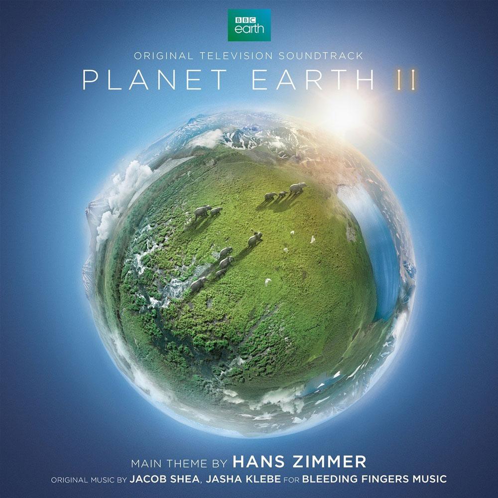 漢斯.季默:地球脈動2 電視原聲帶 2CD