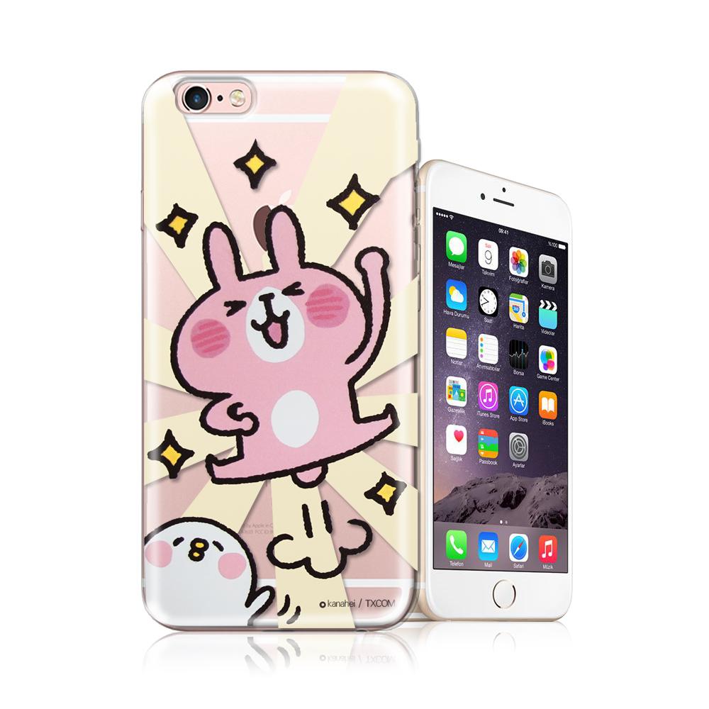 官方授權卡娜赫拉 iPhone 6S plus 5.5吋 透明彩繪手機殼(YA!)