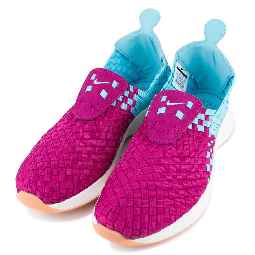 24H-NIKE-女編織鞋302350400-紅藍