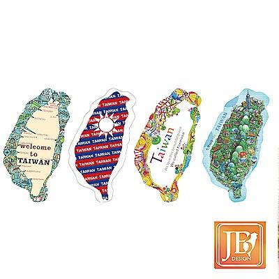 JB DESIGN-台灣造型貼紙一-四入一組