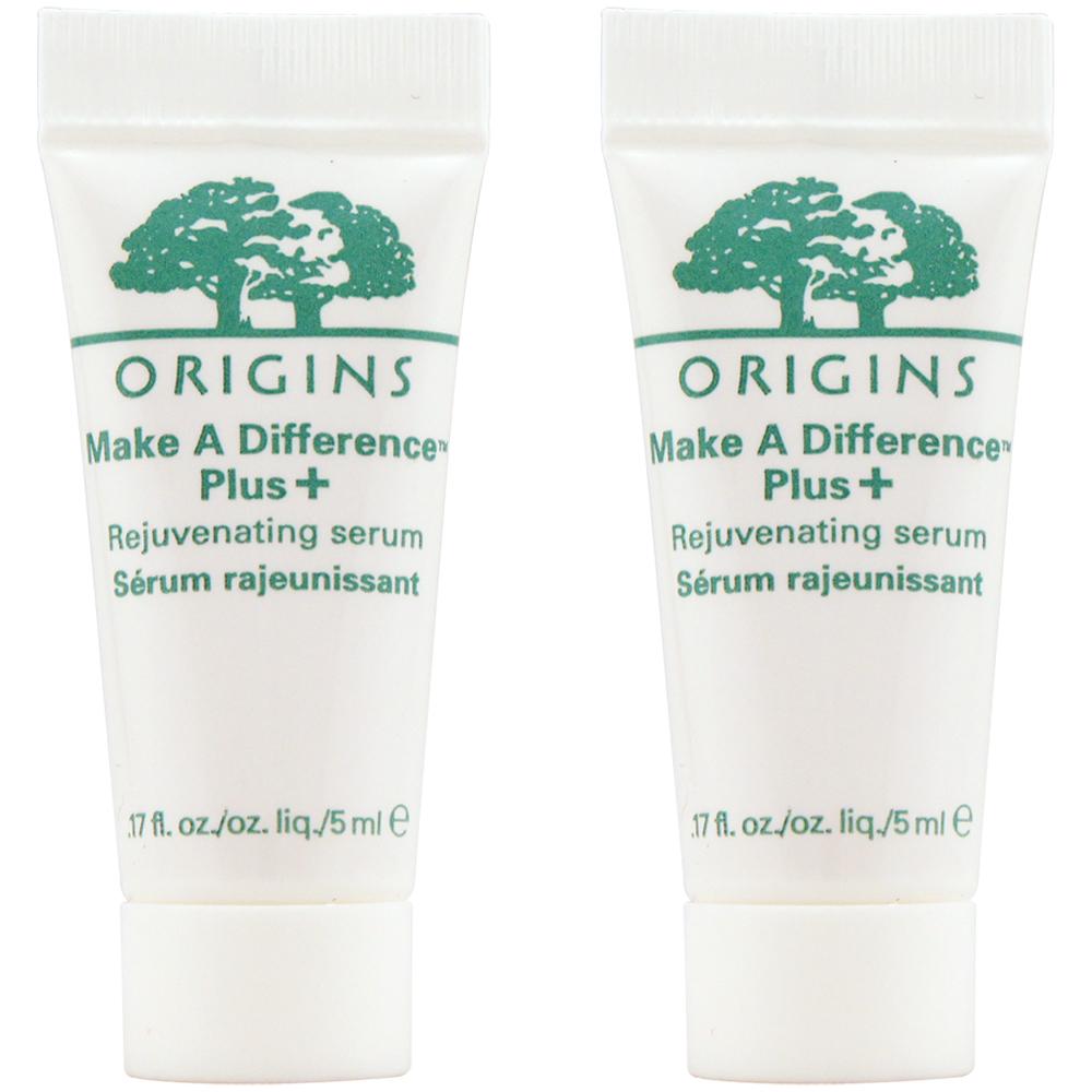 ORIGINS品木宣言 扭轉乾坤賦活保濕精華Plus 5ml*2
