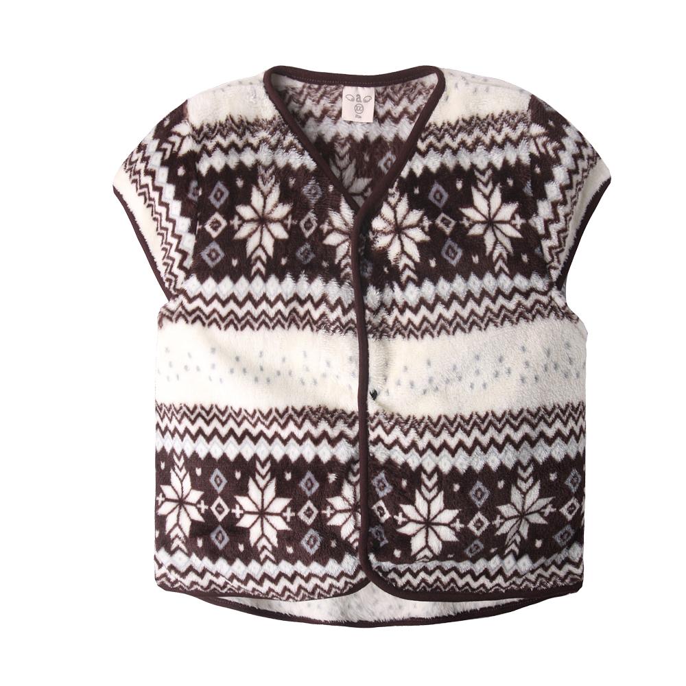baby童衣 兒童珊瑚絨馬甲 北歐秋冬背心 50421 product image 1