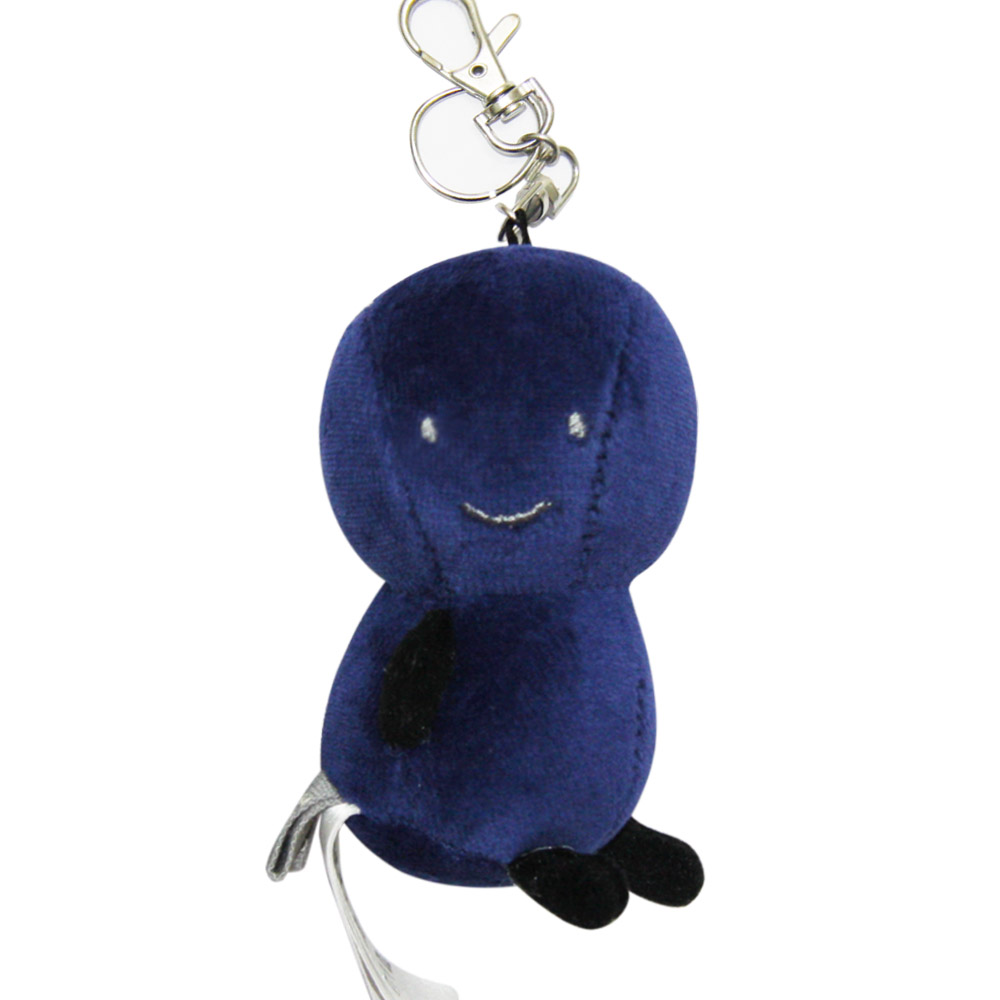 Yvonne Collection娃娃玩偶鑰匙圈-寶藍