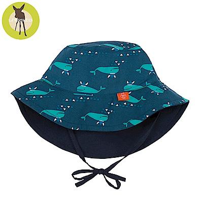 德國Lassig-嬰幼兒抗UV海灘遮陽帽-小海鯨