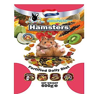 PV-593-0601 PV寵物鼠天然水果大餐600G 2包組