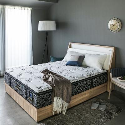 H&D 喜事達02型-COOLMAX三線護邊透氣獨立筒床墊-單人3.5尺