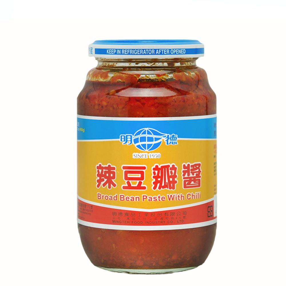 明德 辣豆瓣醬(大) 460g x12罐/箱