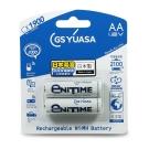 GS Yuasa 日本湯淺 低自放鎳氫充電電池 2000mAh(3號 2入)